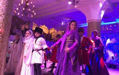 8 Марта на концерте на концерте народной артистки Дагестана Патимат Кагировой