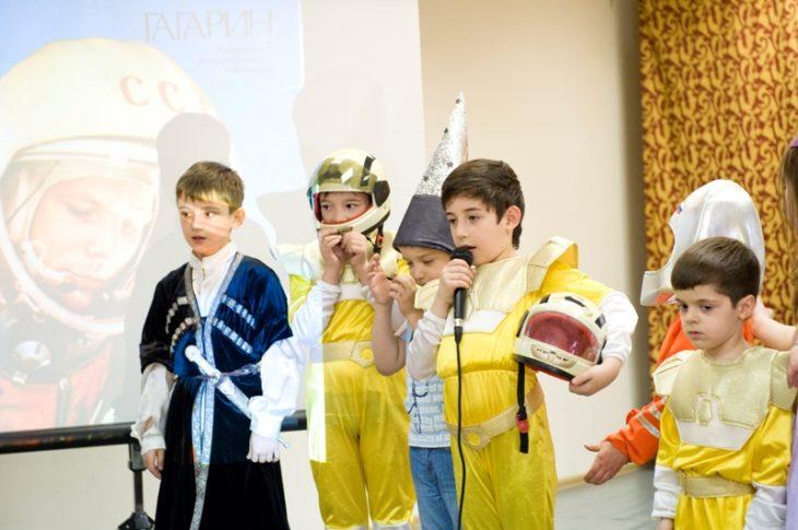 В центре «Намус» провели мероприятие «Всемирный День авиации и космонавтики»